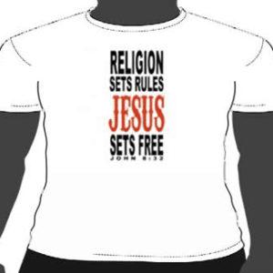 Jesus sets free